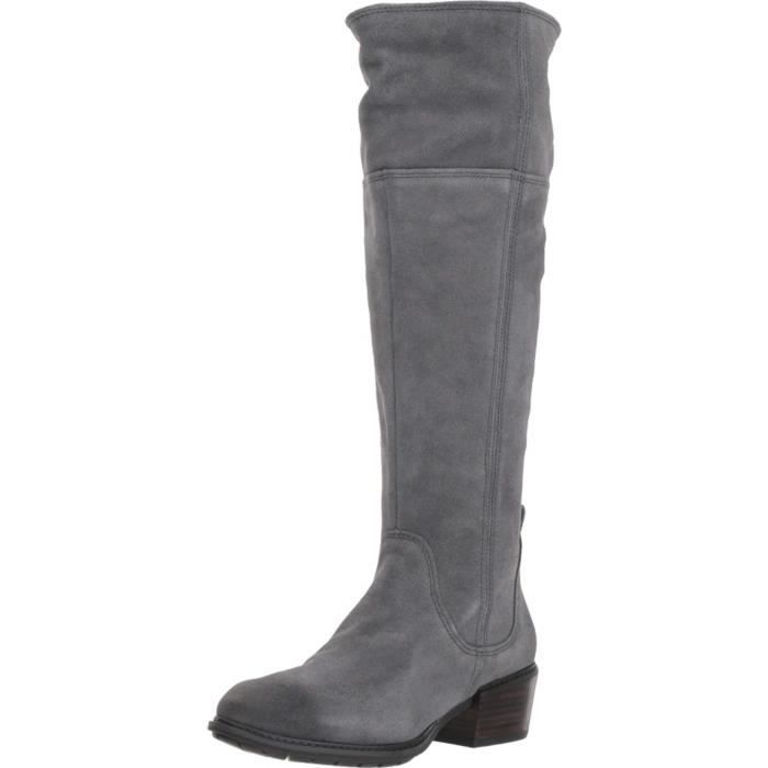 a8fd0ddaa430f Timberland Botte haute femme sutherlin bay P0TZ9 Taille-41 Gris Gris ...