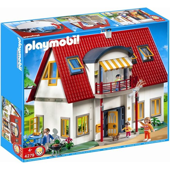 playmobil 4279 villa moderne achat vente univers. Black Bedroom Furniture Sets. Home Design Ideas