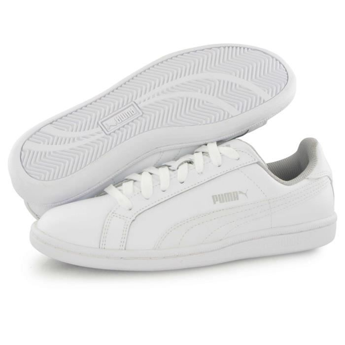 Puma Puma Smash Fun blanc, baskets mode mixte