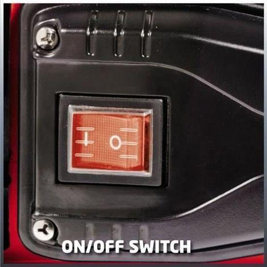 Kit daspiration 4m Einhell Pompe d/'arrosage de surface GC-GP 6538 650 W, C/âble d/'alimentation 1,4 m, Corps en PVC, Bouchon de purge, Interrupteur marche//arr/êt