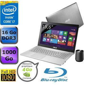 """ORDINATEUR PORTABLE ASUS PC Portable 15,6"""" N550JV-CN127H"""
