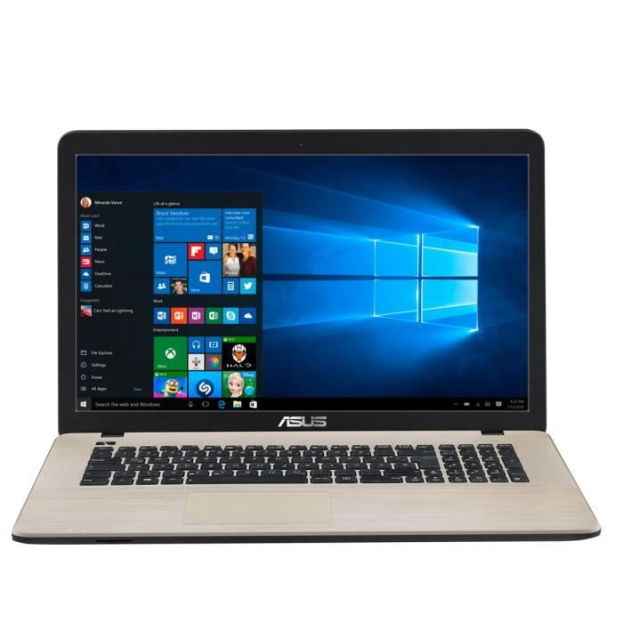 asus pc portable x752lj ty427t 17 3 8go ram windows. Black Bedroom Furniture Sets. Home Design Ideas