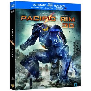 BLU-RAY FILM Blu-ray 3D Pacific Rim