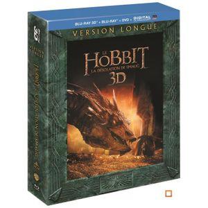 BLU-RAY FILM Blu-ray 3D Le Hobbit : La désolation de Smaug - Ve