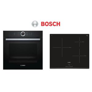 PACK cuisson BOSCH - HBG675BB1F Four électrique encastrable + PIJ631BB1E Table de cuisson induction