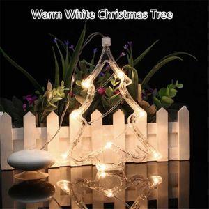 AMPOULE - LED 8 LED lumières de Noël la lumière de la fenêtre av