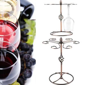 PORTE-VERRE Support de suspension verre à pied vin rouge en ve