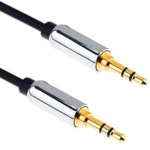 CÂBLE TV - VIDÉO - SON G-Shield 2m Câble Auxiliaire Jack 3,5mm Stéréo Son