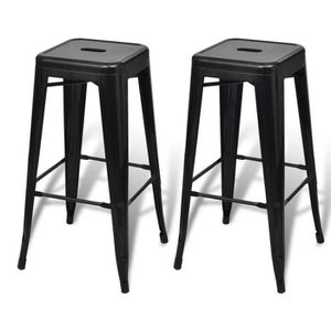 tabouret bar fer achat vente tabouret bar fer pas cher. Black Bedroom Furniture Sets. Home Design Ideas