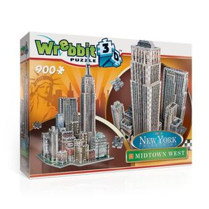 PUZZLE Wrebbit 3D Harry Potter Midtown West-New York Coll