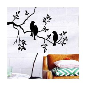 sticker oiseau noir achat vente sticker oiseau noir pas cher cdiscount. Black Bedroom Furniture Sets. Home Design Ideas
