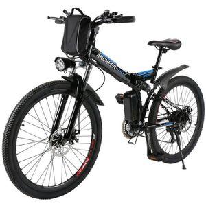 VÉLO ASSISTANCE ÉLEC ANCHEER Vélo homme vélo électrique montagne pliabl