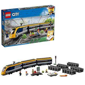 ASSEMBLAGE CONSTRUCTION Jeu D'Assemblage LEGO YKT8K City Passenger Rc Trai