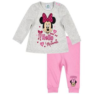 Ensemble de vêtements Ensemble pantalon et t-shirt bébé fille Minnie Gri