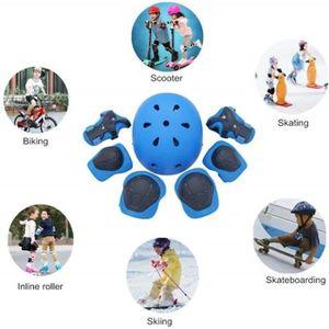 VÉLO ENFANT Sets de Protection 7 Pièces, Enfants Genouillère C