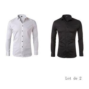 Chemise manches longues homme de marque Soulcal 2 coloris au choix du S au XXL