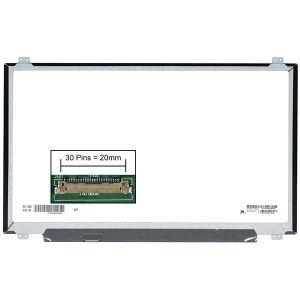 DALLE D'ÉCRAN Dalle écran LCD LED pour MSI GT72VR 6RE-048CA 17.3