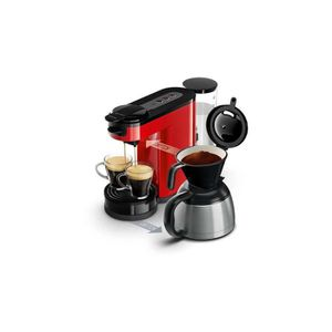 MACHINE À CAFÉ Cafetière PHILIPS HD7892/81 Switch Rouge