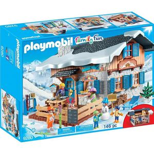 UNIVERS MINIATURE PLAYMOBIL 9280 - Family Fun - Chalet de Montagne a