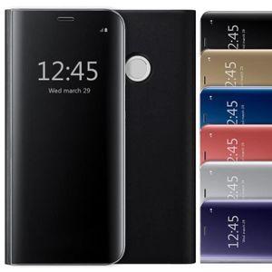 HOUSSE - ÉTUI Etui Samsung Galaxy S9 Plus, Clear View Flip Stand