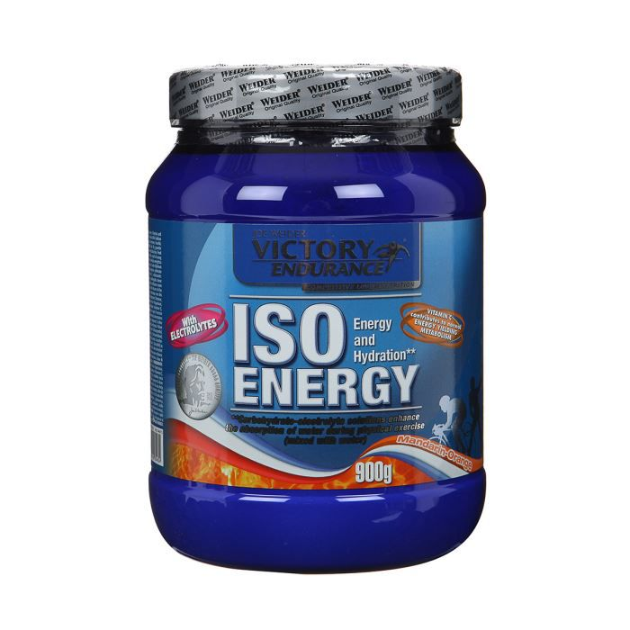 WEIDER Sachet de Iso Energy Orange 900g