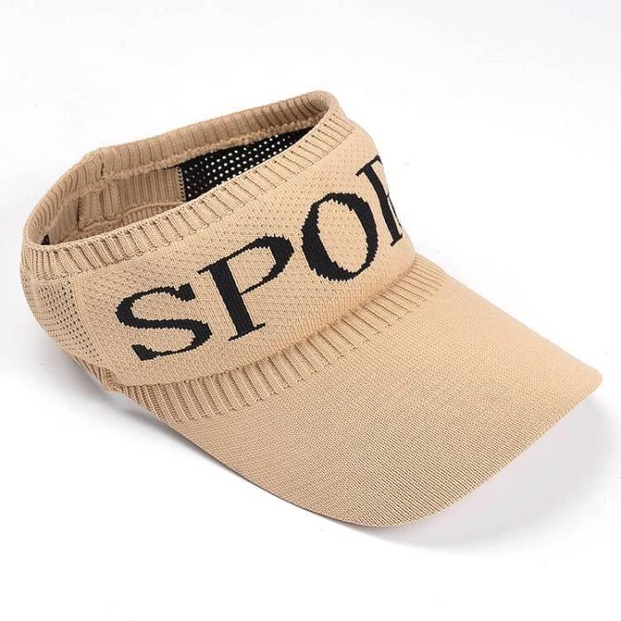 Chapeau de soleil K32 pour femmes, casquette de Tennis, Baseball, Long avant, tricoté, sport, cyclisme, vide, offre [C4F795A]