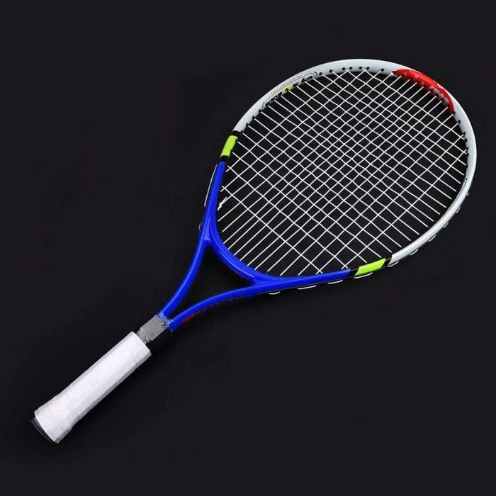 Raquette de Tennis pour Enfants Raquette de Tennis Junior Sportive pour L'entraînement Raquette de Tennis de 23 Pouces pour Garç83