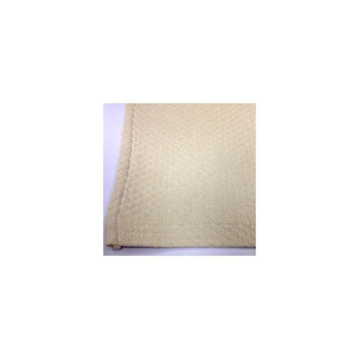 Couvre-lit en coton 0,000000 Ecru