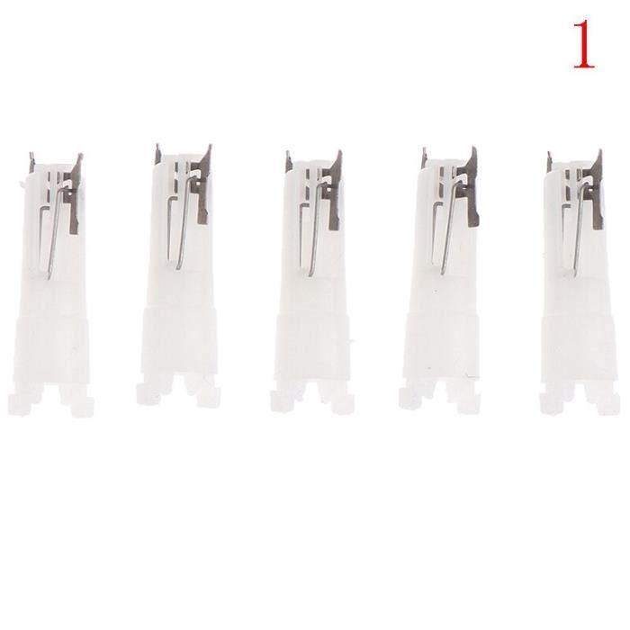 Têtes de tondeuse à nez 3 en 1, 5 pièces, tête de remplacement pour tondeuse à nez~N1*PL1207