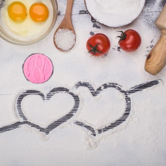 3d liquide silicone moule plume dentelle forme gâteau moules de cuisson décoration outil fondant moule chocolat bonbons bricolage
