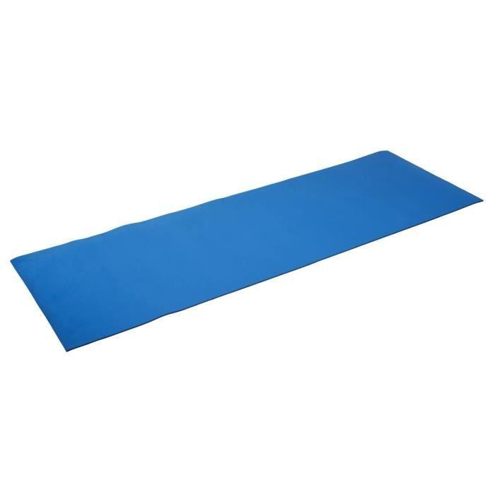 Silly.con Fitness-und Yogamatte, Blau, aus EVA-Schaumstoff, Circa 173 x 61 x 0, 5 cm Coussin Mixte, Bleu, M