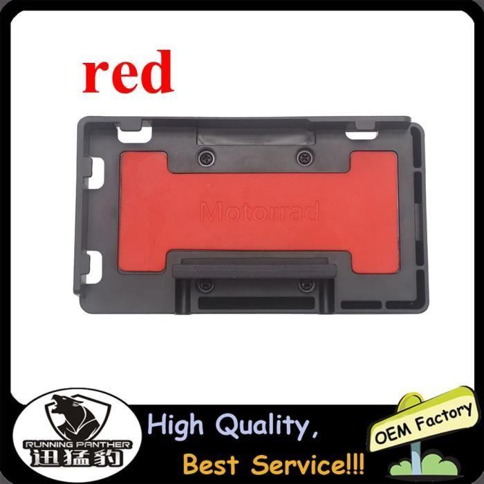 Protege Cadre,Chargeur sans fil pour moto BMW R1250GS Adventure R 1250 GS ADV, support de téléphone portable -Type Wireless red