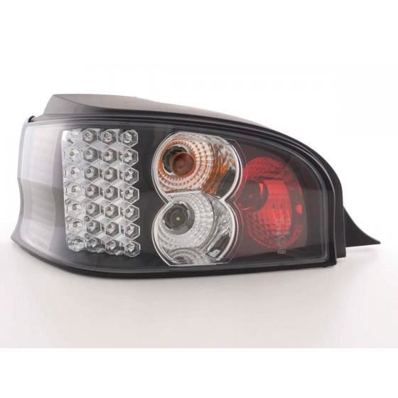 LED Feux arrières pour Citroën Saxo (type S/S HFX / S KFW) année 96-02, noir - - année: 1996 à 2002- couleur: noir