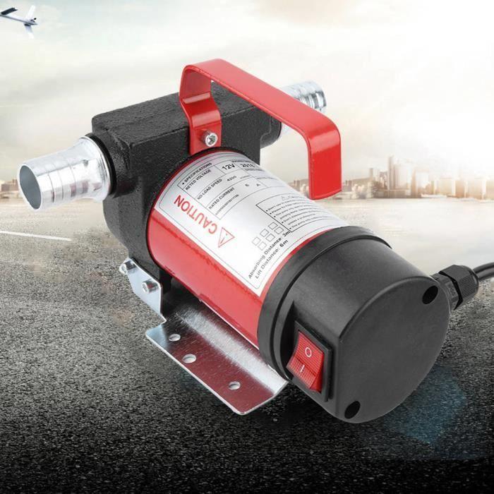 Cuque 12V 160W Pompe d'Aspiration d'Huile Portable 40L/Minute Pompe de Transfert Diesel/Huile pour Quad Auto Moto HB014