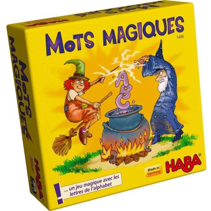 5486 - mots magiques - jeu éducatif dès l'âge de 6 ans pour l'apprentissage des lettres, cadeau idéal pour les débutants pour la sco