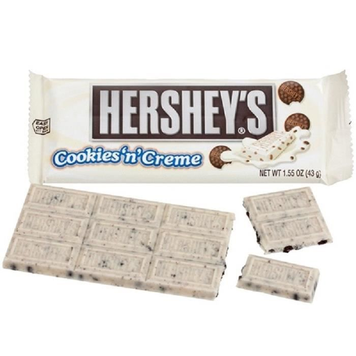 Hershey's Cookies And Cream Façon Oreo
