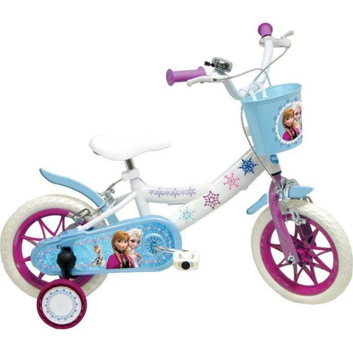 LA REINE DES NEIGES Vélo Enfant 10 Pouces (2 à 3 ans)