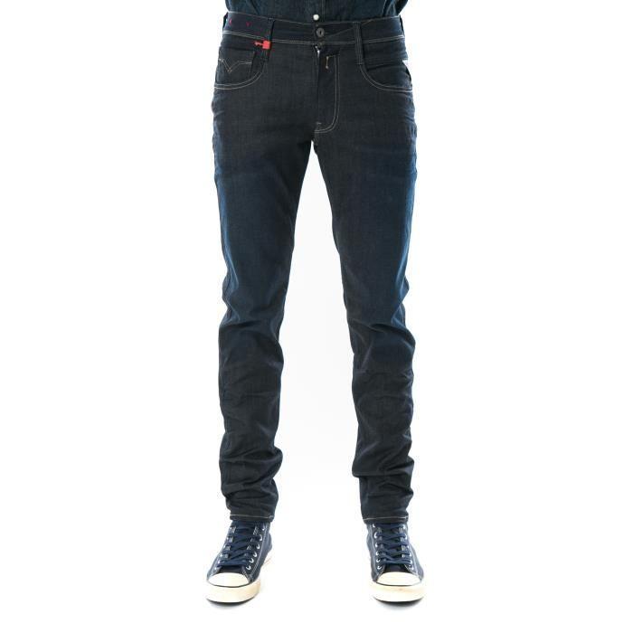 Jeans Slim Anbass Replay Bleu Brut