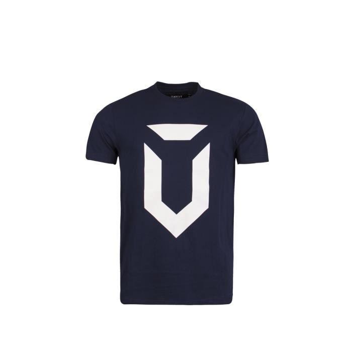 T-shirt Unkut Dark Bleu