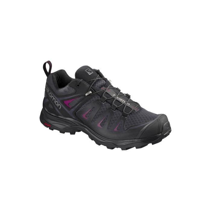 X Ultra 3 W - Chaussures randonnée femme Graphite / Black 42