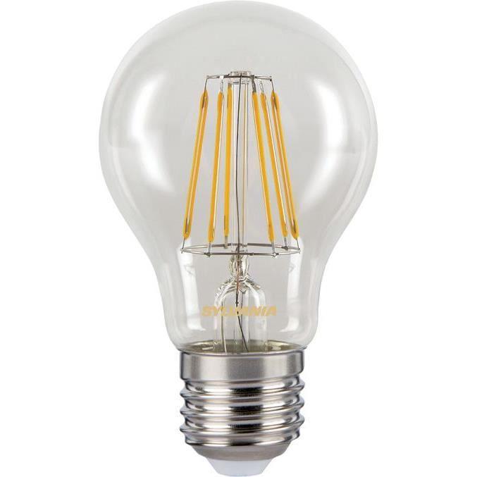 SYLVANIA - Tolédo rétro standard A60 806 lumens E27 4000K en boite
