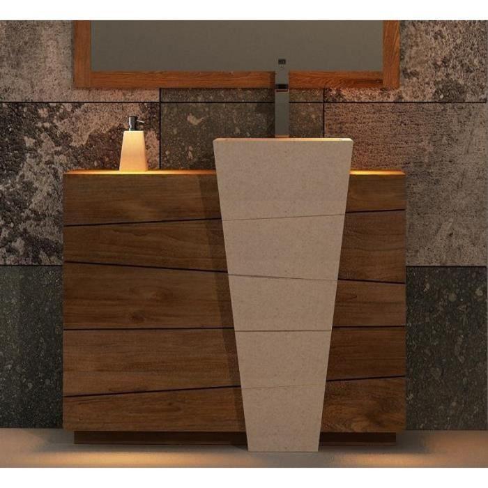 Meuble lavabo salle de bain original