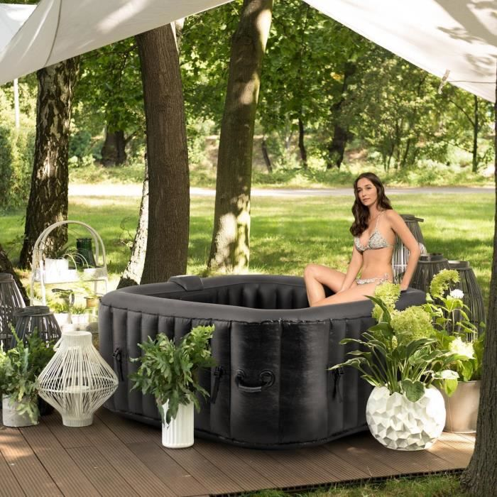 jacuzzi interieur exterieur achat vente jacuzzi interieur exterieur pas cher cdiscount. Black Bedroom Furniture Sets. Home Design Ideas