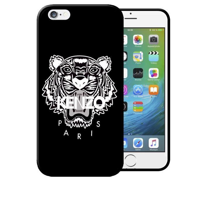 coque iphone 6plus 6s plus kenzo noir swag vintage