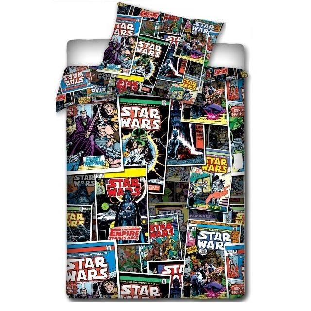 star wars bd linge de lit parure housse de couette achat. Black Bedroom Furniture Sets. Home Design Ideas
