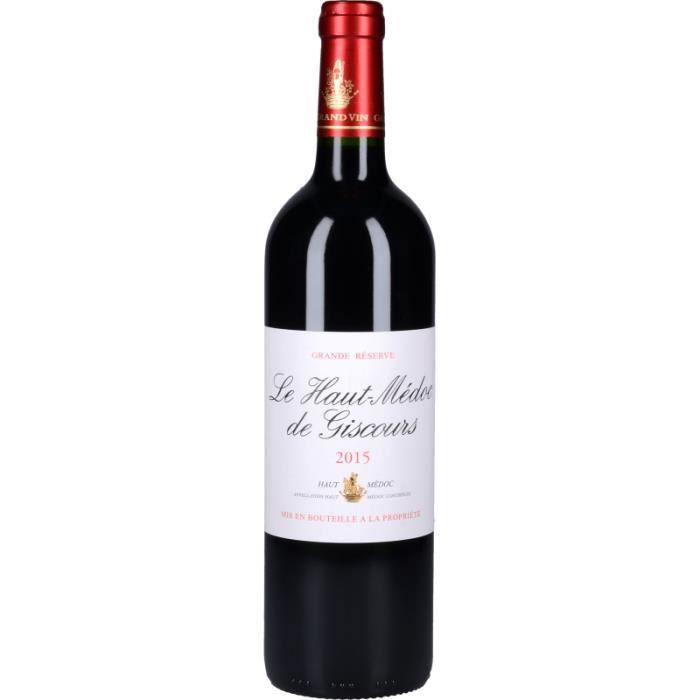 VIN ROUGE Vin Rouge - Le Haut-Médoc de Giscours 2015 - Boute