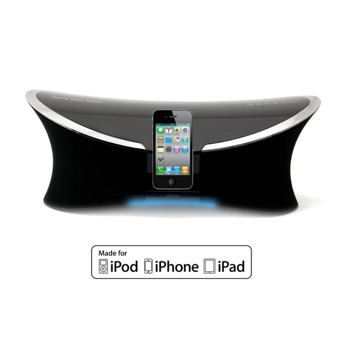 hb ip280 station d 39 accueil apple ipod ipad iphone achat vente station d 39 accueil hb ip280. Black Bedroom Furniture Sets. Home Design Ideas
