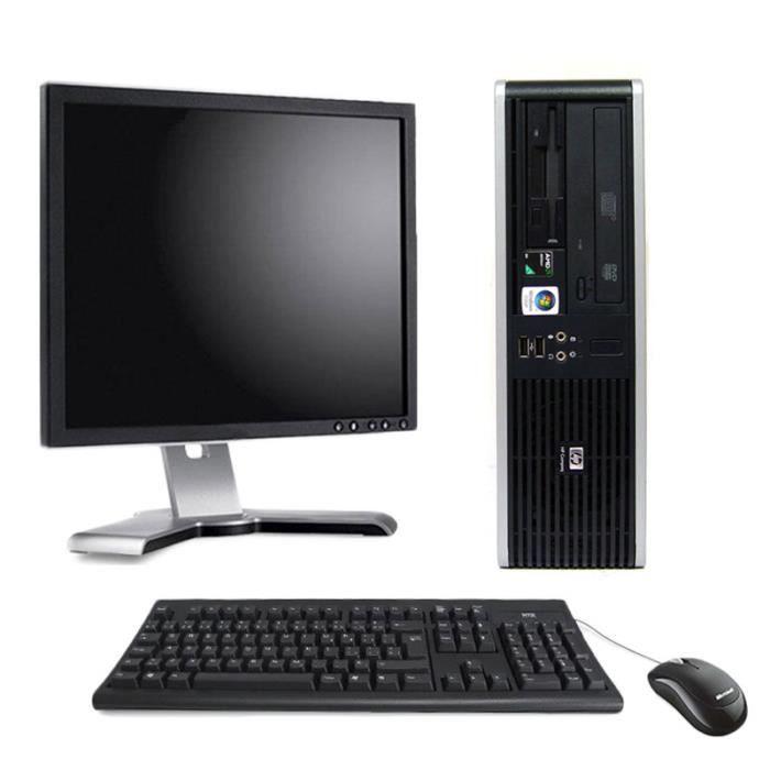 ORDI BUREAU RECONDITIONNÉ PC de bureau - HP Compaq DC5850 Format SFF 2,6Ghz