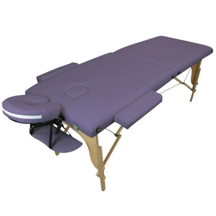 table de massage pliante bois occasion