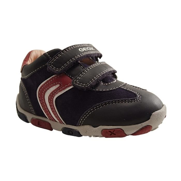 GEOX Enfants-BALU-TRAINING VELCRO-NAVY